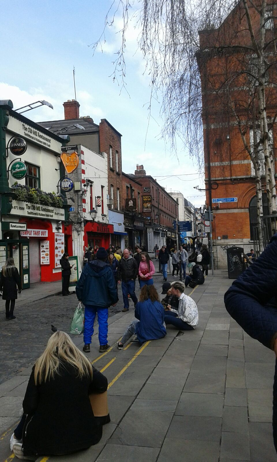 visiting the city of Dublin
